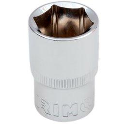 Soquete Sextavado Cr-V de 20mm com Encaixe de 1/2 Pol.