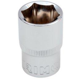 Soquete Sextavado Cr-V de 21mm com Encaixe de 1/2 Pol.