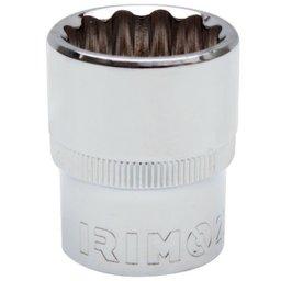 Soquete Estriado 8mm com Encaixe de 1/2 Pol.