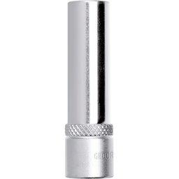 Soquete Sextavado Longo de 20mm com Encaixe de 1/2 Pol.