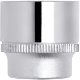 Soquete Estriado de 8mm com Encaixe de 1/2 Pol.
