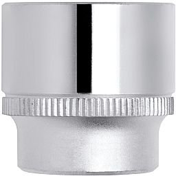 Soquete Estriado de 20mm com Encaixe de 1/2 Pol.