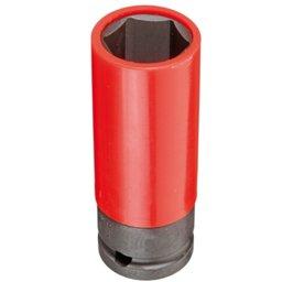 Soquete Sextavado Impacto 21mm com Encaixe de 1/2 Pol. para Roda de Liga Leve