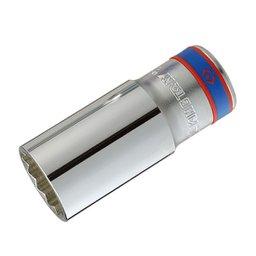 Soquete Estriado com Encaixe de 1/2 pol. Longo 26 mm