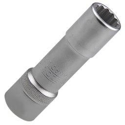Soquete Estriado longo 14 mm com Encaixe de 1/2 Pol.
