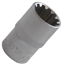 Soquete Multi-Lock com Encaixe de 1/2 Pol. -  17mm