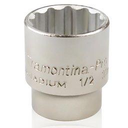 Soquete Estriado com Encaixe de 1/2 Pol. 30 mm