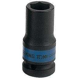 Soquete Sextavado de Impacto Longo 14mm com Encaixe de 1/2 Pol.