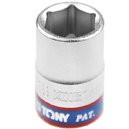 Soquete Sextavado curto de16 mm com Encaixe de 1/2 Pol.