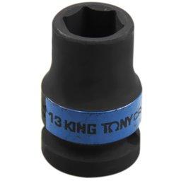 Soquete de Impacto Sextavado Curto 13 mm de 1/2  Pol.
