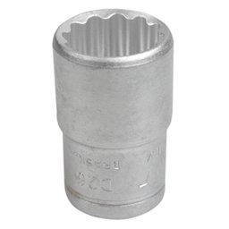 Soquete Estriado de 30mm com Encaixe de 1/2 Pol.