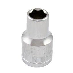 Soquete Sextavado Cromado 1/2 Pol. 10mm