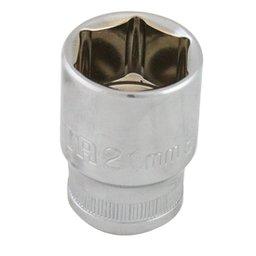 Soquete Sextavado 21mm com Encaixe de 1/2 Pol.