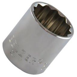 Soquete Estriado 30 mm com Encaixe de 1/2 Pol.