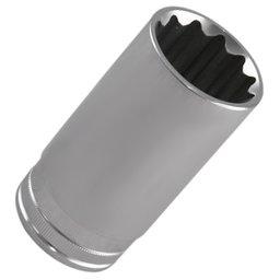Soquete Estriado Longo com Encaixe de 1/2 Pol. de 32 mm