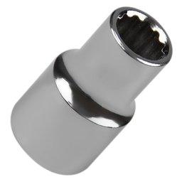 Soquete Estriado com Encaixe de 1/2 Pol. 11mm