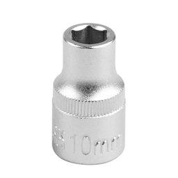 Soquete Sextavado 10mm com Encaixe de 1/2 Pol.