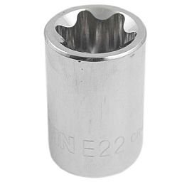 Soquete Tork E22 com Encaixe de 1/2 Pol