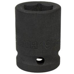 Soquete de Impacto Sextavado de 19mm com Encaixe de 1/2 Pol.