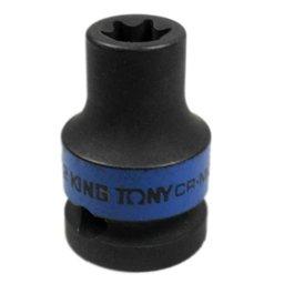 Soquete de Impacto tipo Tork E12 com Encaixe de 1/2 Pol.