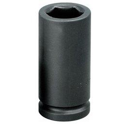 Soquete de Impacto Sextavado Longo 24mm com Encaixe de 3/4 Pol.