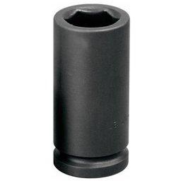 Soquete de Impacto Sextavado Longo de 27mm com Encaixe de 3/4 Pol.