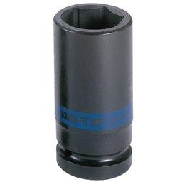 Soquete de Impacto Sextavado Longo Cr-Mo 28mm com Encaixe de 3/4 Pol.