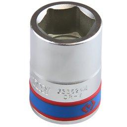 Soquete Sextavado com Encaixe de 3/4 Pol. de 24 mm