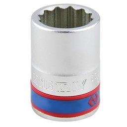 Soquete Estriado com Encaixe de 3/4 Pol 24 mm