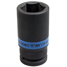Soquete de Impacto Longo Sextavado de 32mm com Encaixe de 3/4 Pol.