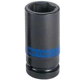 Soquete de Impacto Sextavado Longo de 36mm com Encaixe de 3/4 Pol.
