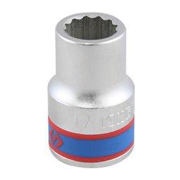 Soquete Estriado de 3/4 Pol. 17mm