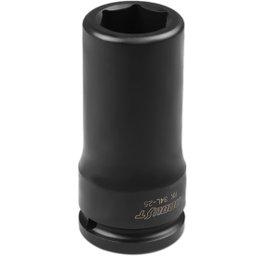 Soquete Sextavado de Impacto Longo com Encaixe de 3/4 Pol. - 25 mm