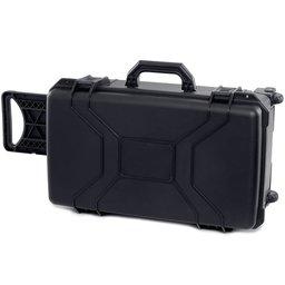 Mala em Termoplástico Preta para Uso Geral com Rodinhas 238 x 340 x 560mm