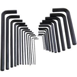 Conjunto de Chaves Allen Curta / Longa com 25 Peças