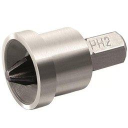 Adaptador com Bit PH2 para Parafusadeira Drywall