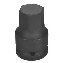 Soquete de Impacto Ponta Hexagonal Cr-Mo 22mm com Encaixe de 3/4 Pol.