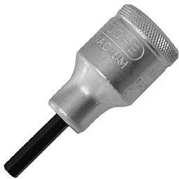Chave Soquete Allen Curta de1/2 Pol. 5mm