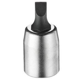 Soquete tipo Fenda 1,2x6,5mm com Encaixe 1/4Pol.