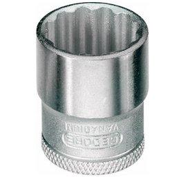 Soquete Estriado 10mm com Encaixe de 3/8 Pol.