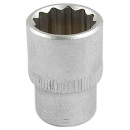 Soquete Estriado 19mm com Encaixe de 3/8 Pol.