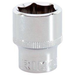 Soquete Sextavado Cr-V de 15mm com Encaixe de 3/8 Pol.