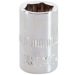 Soquete Sextavado Cr-V de 6mm com Encaixe de 1/4 Pol.