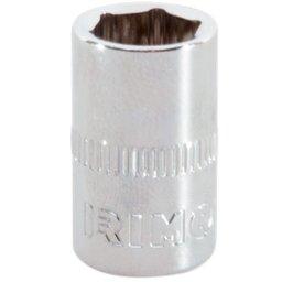 Soquete Sextavado Cr-V de 12mm com Encaixe de 1/4 Pol.
