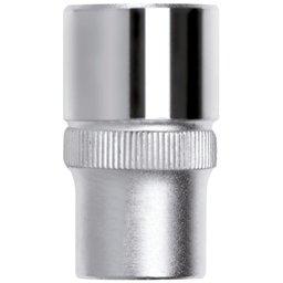 Soquete Sextavado de 8mm com Encaixe de 1/4 Pol.