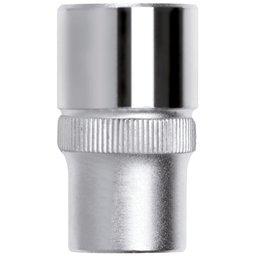 Soquete Sextavado de 12mm com Encaixe de 1/4 Pol.