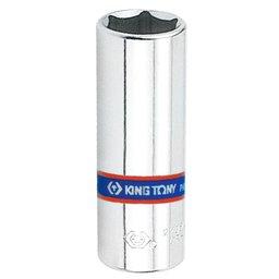 Soquete Sextavado Longo de 6mm com Encaixe de 1/4 Pol.