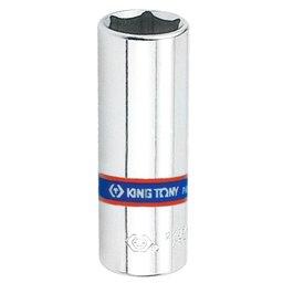 Soquete Sextavado Longo de 8mm com Encaixe de 1/4 Pol.