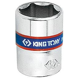 Soquete Sextavado de 6mm com Encaixe de 1/4 Pol.