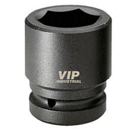 Soquete Sextavado de Impacto Curto de 24mm com Encaixe de 1 Pol.